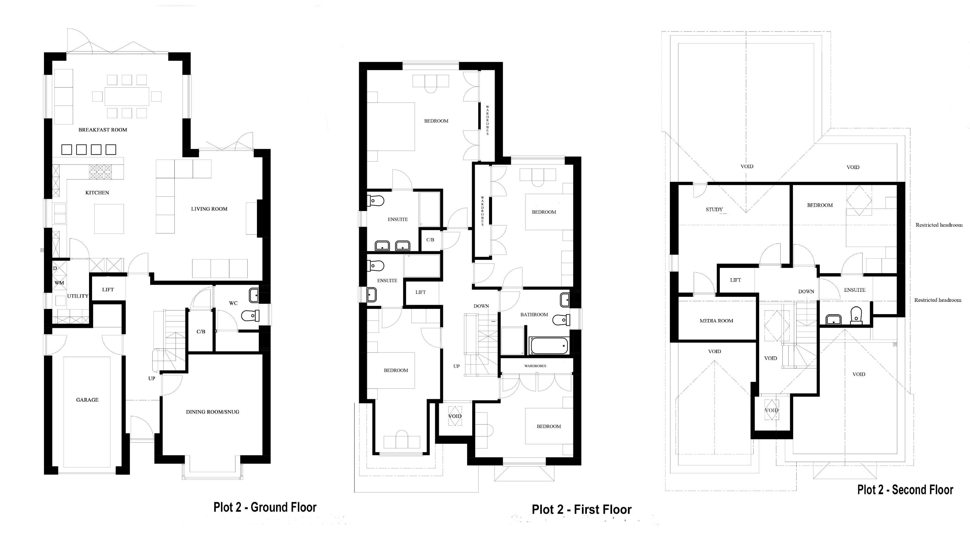 P2, 59 Twatling Road, floor plans