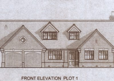 Plot 1, drawing front