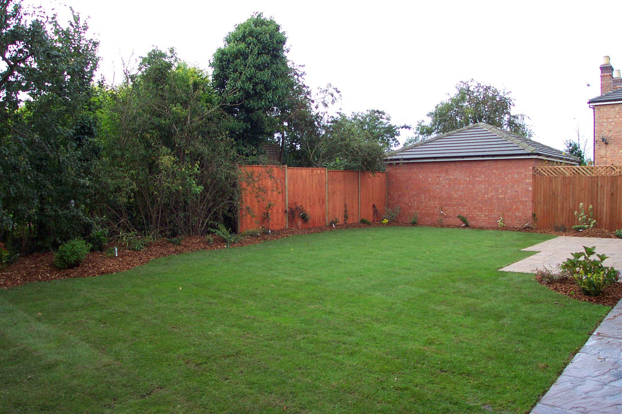 Plot 1, garden