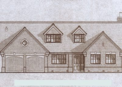 Plot 2, drawing front