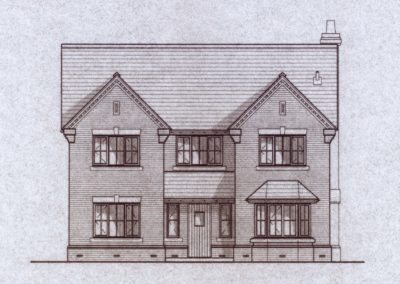 Plot 3, drawing front