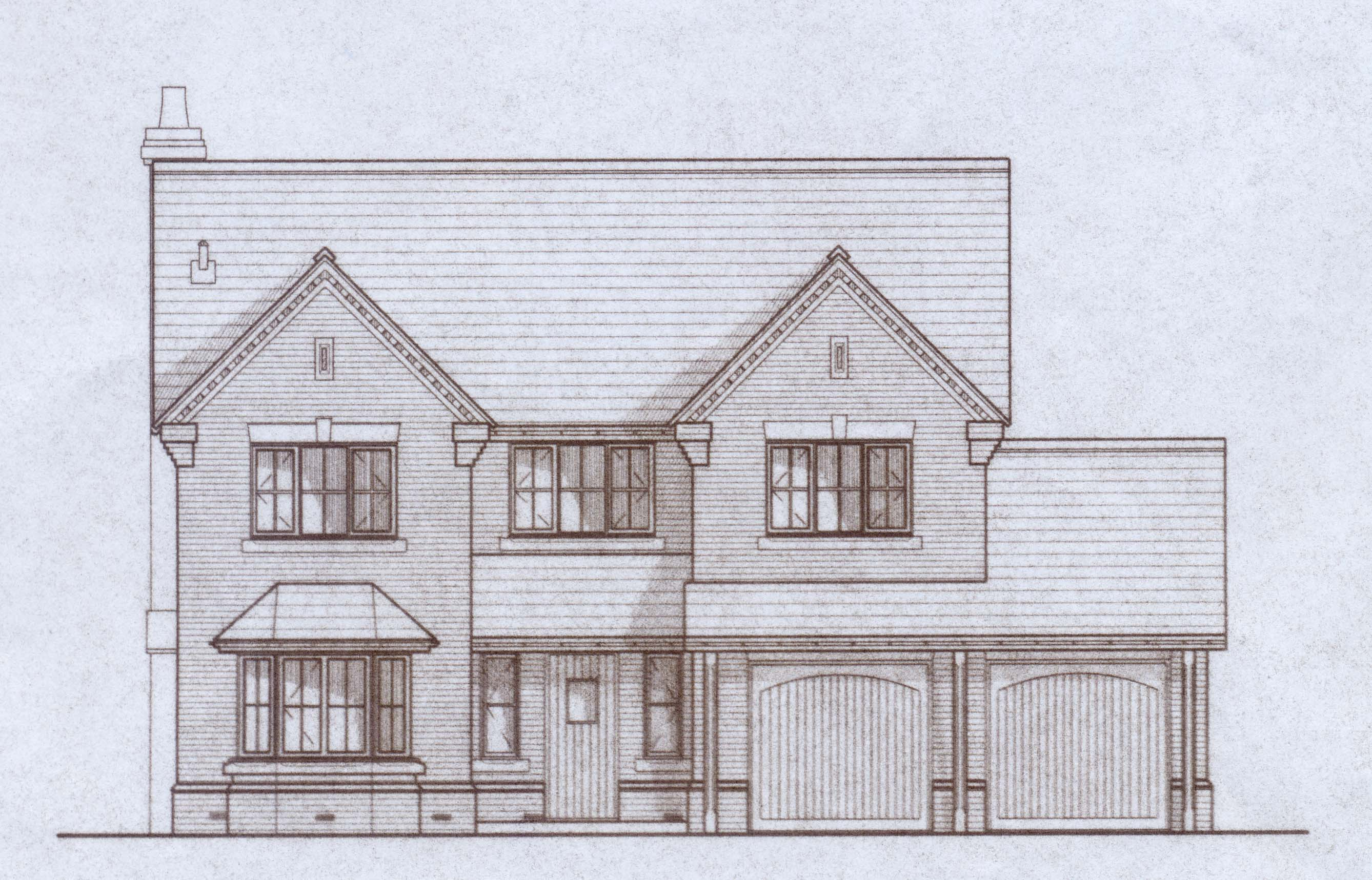 Plot 4, drawing front