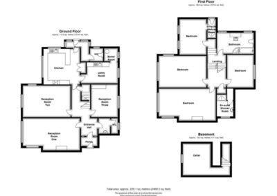 4 Church Lane, floorplan