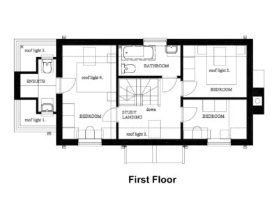 New House, Beacon Hill, fps 1st