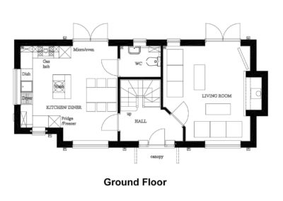 New House, Beacon Hill, fps grd