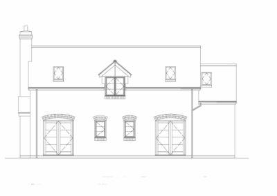 New House, Beacon Hill, rear