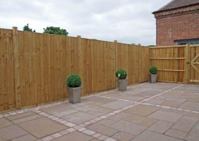 Timberdine Worcester, plot 3 garden 1
