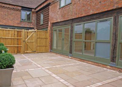 Timberdine Worcester, plot 3 garden 2