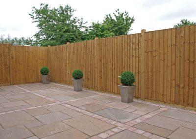 Timberdine Worcester, plot 3 garden 3
