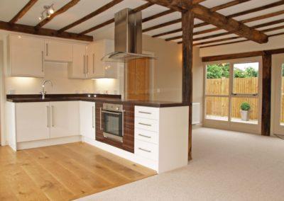 Timberdine Worcester, plot 3 kitchen living