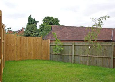 Timberdine Worcester, plot 4 garden