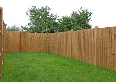 Timberdine Worcester, plot 5 garden