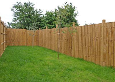 Timberdine Worcester, plot 6 garden