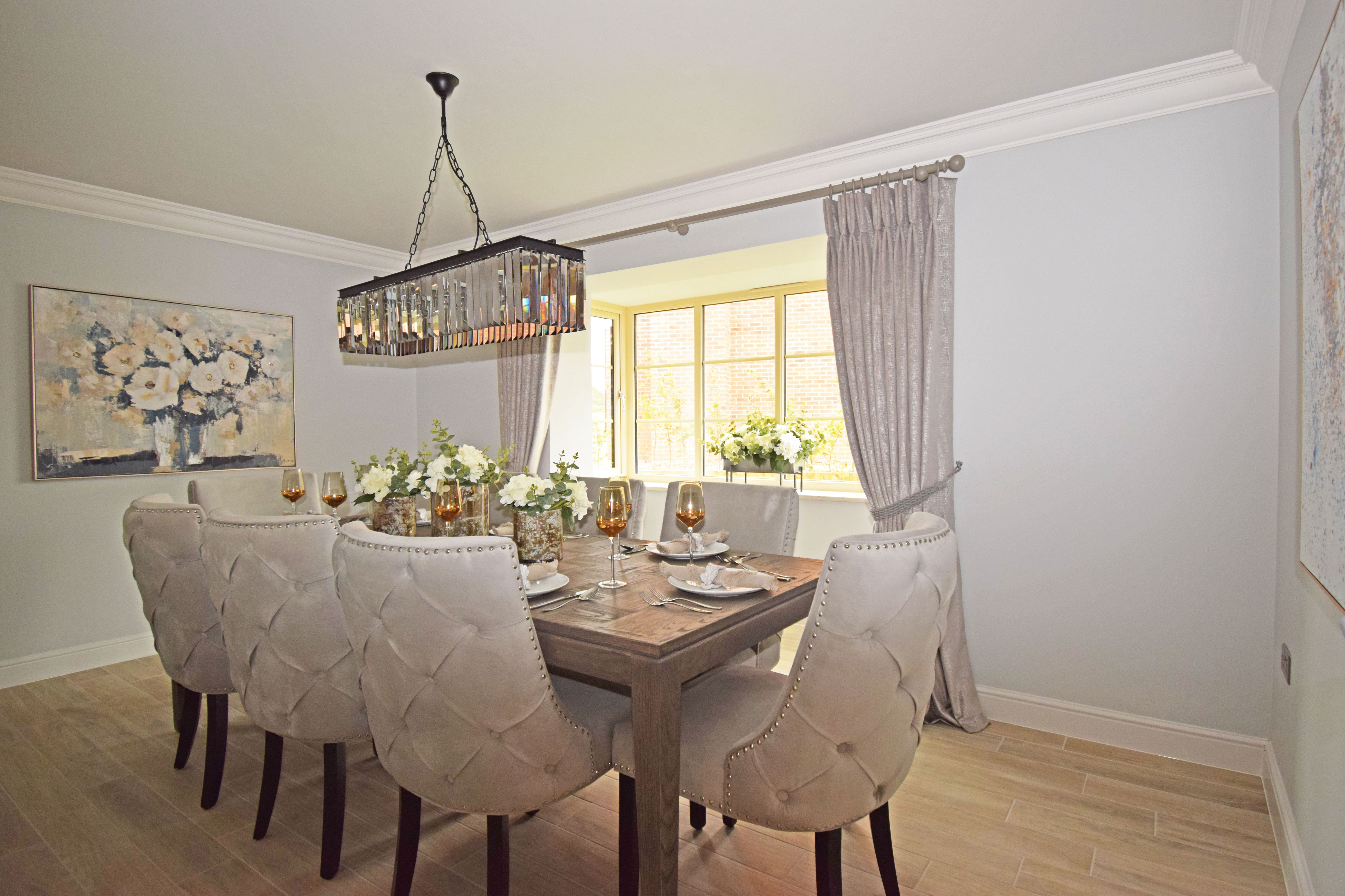 Plot 1 Peachley Court, dining-min