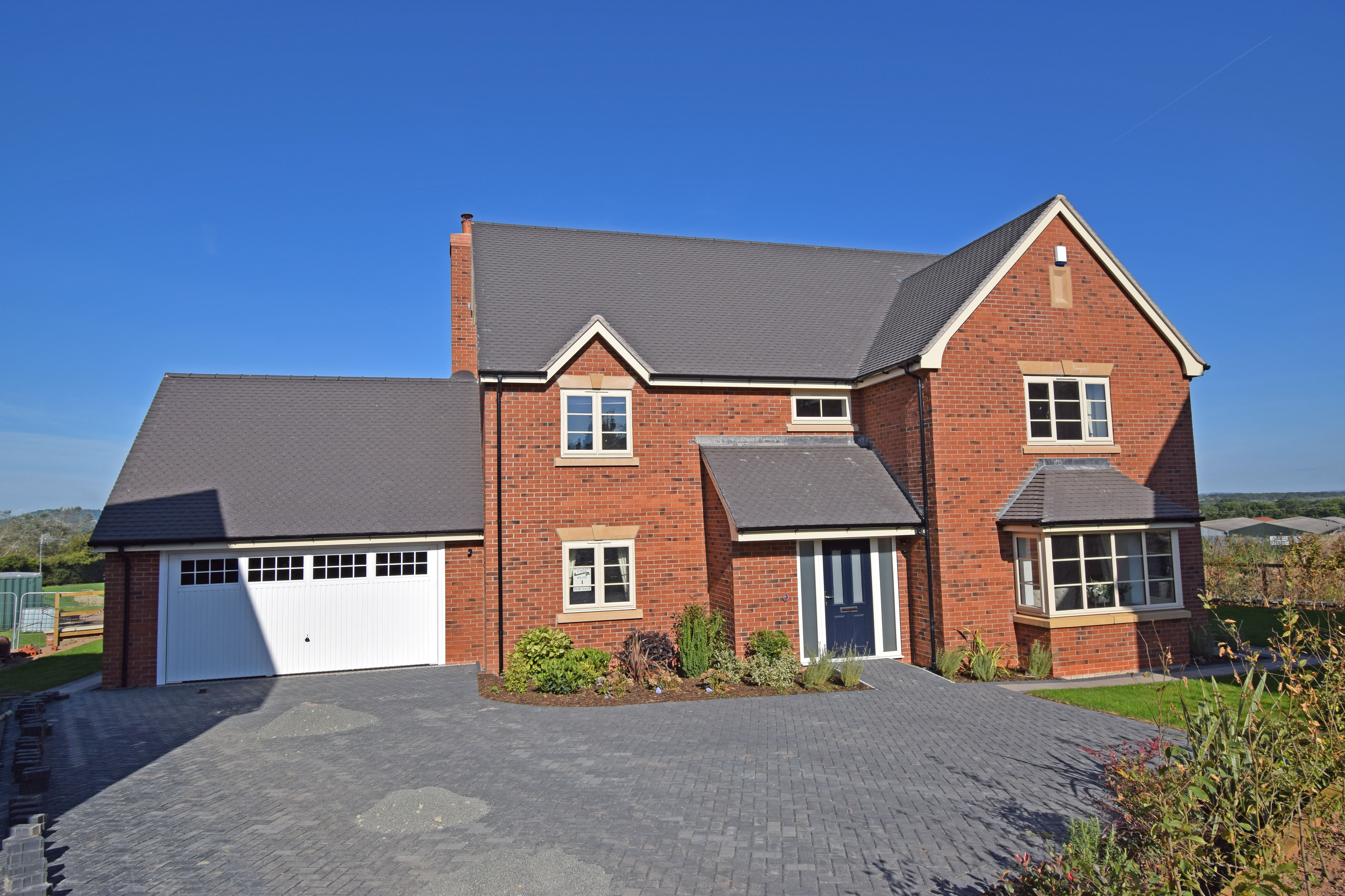 Plot 1 Peachley Court, front 2